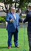 Tom Watson MP <br /> Deputy Leader of the Labour Party <br /> being interviewed on College Green , <br /> Westminster , London, Great Britain <br /> 6th September 2017 <br /> <br /> <br /> <br /> Tom Watson MP <br /> Deputy Leader of the Labour Party <br /> being interviewed on College Green <br /> <br /> <br /> Photograph by Elliott Franks <br /> Image licensed to Elliott Franks Photography Services
