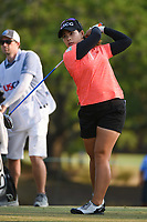 Moriya Jutanugarn (THA) watches her tee shot on 2 during round 1 of the 2019 US Women's Open, Charleston Country Club, Charleston, South Carolina,  USA. 5/30/2019.<br /> Picture: Golffile | Ken Murray<br /> <br /> All photo usage must carry mandatory copyright credit (© Golffile | Ken Murray)