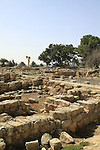 The northern casemate wall of the Royal Palace from the period of the Kingdom of Judah at Ramat Rachel Archaeological Garden