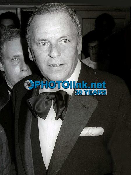 Frank Sinatra Undated<br /> Photo By John Barrett/PHOTOlink