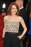 Emma Stone at the 72nd Annual Golden Globe Awards at the Beverly Hilton Hotel, Beverly Hills.<br /> January 11, 2015  Beverly Hills, CA<br /> Picture: Paul Smith / Featureflash
