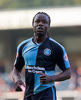 Marcus Bean of Wycombe Wanderers during the Sky Bet League 2 match between Wycombe Wanderers and Northampton Town at Adams Park, High Wycombe, England on 3 October 2015. Photo by Andy Rowland.