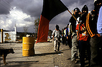 "La Otra Campaña/The Other Campaign.  San Cristobal, Mexico.  The Zapatista's and their charismatic leader descended on the cultural center of Chiapas to mark a six month campaign through Mexico led by Subcomandante Marcos in order to draw attention to what he termed ""Mexico's new left."""