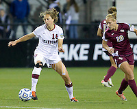 Stanford Cardinals vs Florida State Seminoles in the NCAA 2011 Women's College Cup semifinals.  Stanford won 3-0.