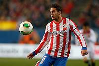31.01.2013 SPAIN - Copa del Rey 12/13 Matchday 1/4  match played between Atletico de Madrid vs Sevilla Futbol Club (2-1) at Vicente Calderon stadium. The picture show  Jorge Resurreccion Koke (Spanish midfielder of At. Madrid)