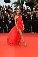"CANNES, FRANCE. May 17, 2019: Bella Hadid at the gala premiere for ""Pain and Glory"" at the Festival de Cannes.<br /> Picture: Paul Smith / Featureflash"