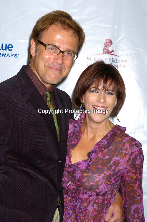 Mark Pinter and Colleen Zenk Pinter ..at the 10th Annual Daytime Television Salutes St. Jude Children's Research Hospital Benefit on October 8, 2004 at the Marriott Marquis Hotel in New York City...Photo by Robin Platzer, Twin Images