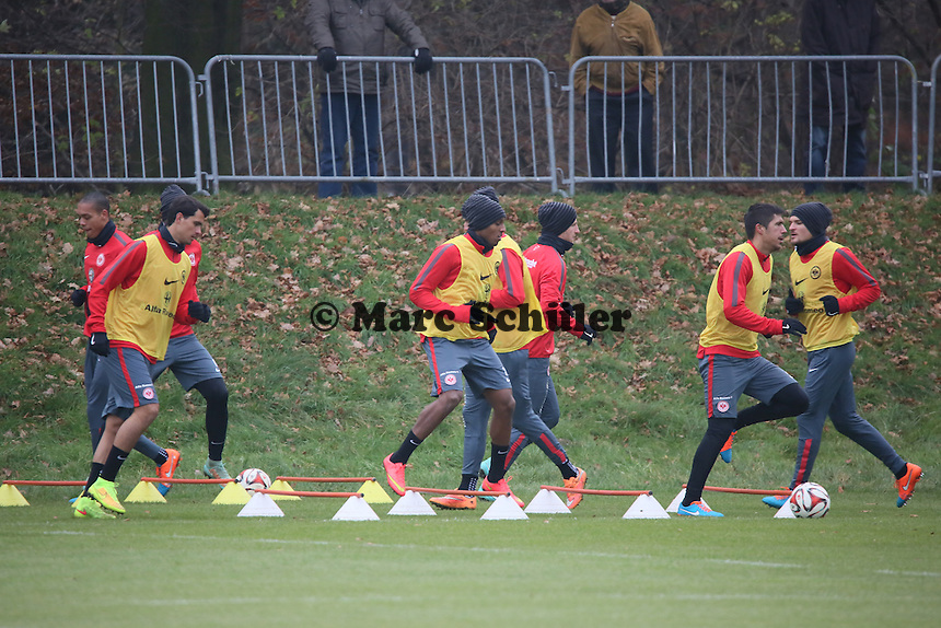 Training Eintracht Frankfurt - Eintracht Frankfurt Training, Commerzbank Arena