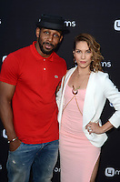 LOS ANGELES, CA - AUGUST 4: Stephen Boss, Allison Holker at the 4Moms launch of the world's first self-installing car seat at Petersen Automotive Museum in Los Angeles, California on August 4, 2016. Credit: David Edwards/MediaPunch