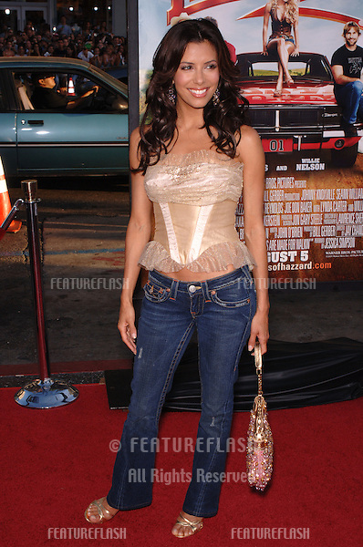 Desperate Housewives star EVA LONGORIA at the Los Angeles premiere of The Dukes of Hazzard..July 28, 2005 Los Angeles, CA.© 2005 Paul Smith / Featureflash
