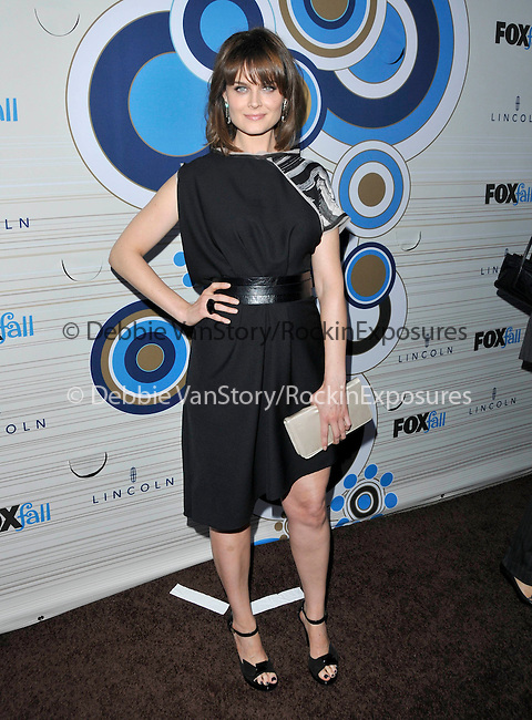 Emily Deschanel  at the Fox Fall Eco-Casino Party held at BOA Steakhouse in West Hollywood, California on September 13,2010                                                                               © 2010 Hollywood Press Agency