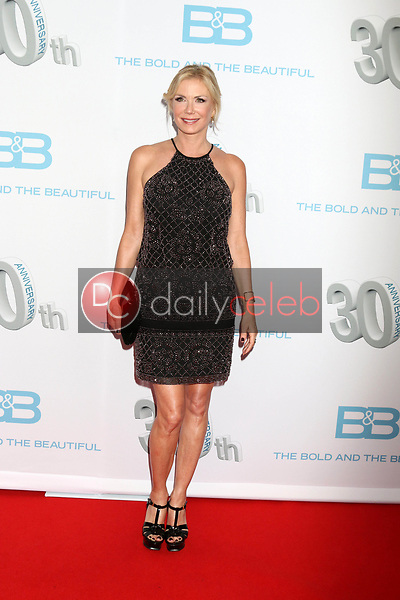 """Katherine Kelly Lang<br /> at the """"The Bold and The Beautiful"""" 30th Anniversary Party, Clifton's Downtown, Los Angeles, CA 03-18-17<br /> David Edwards/DailyCeleb.com 818-249-4998"""