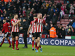 Oli McBurnie of Sheffield Utd during the Premier League match at Bramall Lane, Sheffield. Picture date: 9th February 2020. Picture credit should read: Chloe Hudson/Sportimage