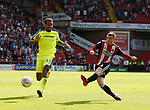 John Fleck of Sheffield Utd  takes a shot during the Championship match at Bramall Lane, Sheffield. Picture date 26th August 2017. Picture credit should read: Simon Bellis/Sportimage
