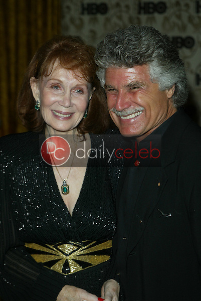 Katherine Helmond and husband David Christian