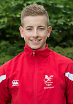 Joseph Small<br /> <br /> Team Wales team photo prior to leaving for the Bahamas 2017 Youth commonwealth games - Sport Wales National centre - Sophia Gardens  - Saturday 15th July 2017 - Wales <br /> <br /> &copy;www.Sportingwales.com - Please Credit: Ian Cook - Sportingwales