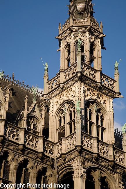 Musee de la Ville de Bruxelles Museum on the Grand Place Square, Brussels, Belgium