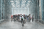 Atrocious conditions during Stage 1 of the 2019 Tour de Yorkshire, running 178.5km from Doncaster to Selby, Yorkshire, England. 2nd May 2019.<br /> Picture: ASO/SWPix | Cyclefile<br /> <br /> All photos usage must carry mandatory copyright credit (&copy; Cyclefile | ASO/SWPix)