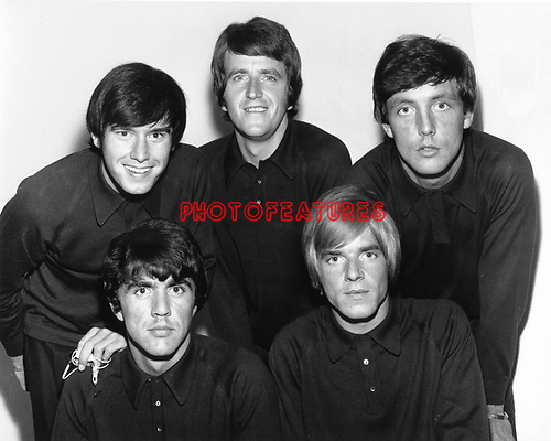 Dave Clark 5 1964 Denis Payton, Rick Huxley, Michael Smith, Dave Clark and Lenny Davidson..Photo by Chris Walter/Photofeatures..