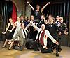Curtains<br /> by Rupert Holmes<br /> Music by John Kander<br /> Lyrics by Fred Ebb<br /> at The Landor Theatre, London, Great Britain <br /> press photocall<br /> 26th July 2012 <br /> <br /> Jeremy Legat as Frank Cioffi<br /> <br /> Bronwyn Andrews as Niki Harris<br /> <br /> Fiona O'Carroll as Georgia Hendricks<br /> <br /> Buster Skeggs as Carmen Bernstein <br /> <br /> Leo Andrew as Aaron Fox<br /> <br /> Mark Joy as Sidney Bernstein<br /> <br /> Bryan Kennedy as Christopher Belling <br /> <br /> Daniella Bowen as Bambi Benet <br /> <br /> Tom Pepper as Daryl Grady/Roy Stetson <br /> <br /> Dudley Rogers as Johnny Harmon<br /> <br /> Martin Bishop as Oscar Shapiro <br /> <br />  Thomas Sutcliffe as Bobby Pepper <br /> <br /> John Wilmott as Randy Dexter<br /> <br /> <br /> Photograph by Elliott Franks