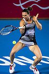Jelena Janikovic of Serbia vs Alize Cornet of France during their Singles Quarter Finals match at the WTA Prudential Hong Kong Tennis Open 2016 at the Victoria Park Tennis Stadium on 14 October 2016 in Hong Kong, China. Photo by Marcio Rodrigo Machado / Power Sport Images