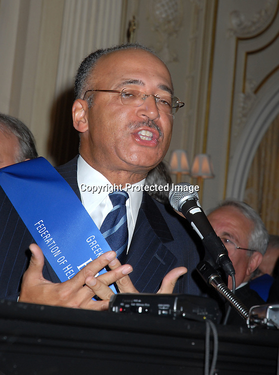 William Thompson ..at the Pre-Parade Reception for the 75th Annual Greek Independence Day Parade on April 2, 2006 at The ..Jumeirah Essex House. ..Robin Platzer, Twin Images