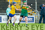 Alanna Maunsell Kerry in action against Joanne Beattie Roscommon in the All Ireland Camogie Premier Junior Championship at Austin Stack Park on Sunday.