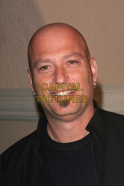 HOWIE MANDELL.NBC 2006 TCA Winter Press Tour Party - Arrivals held at the Ritz Carlton,Pasadena, California..January 22nd, 2006.Photo: Zach Lipp/AdMedia/Capital Pictures.Ref: ZL/ADM.headshot portrait earrings facial hair.www.capitalpictures.com.sales@capitalpictures.com.© Capital Pictures.