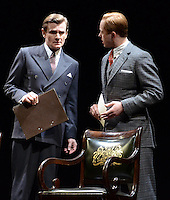 London - Charles Edwards and Daniel Betts -  'The King's Speech' photocall at Wyndham's Theatre, London - March 26th 2012..Photo by Jane Burrows.