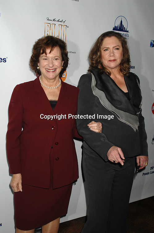 Marcia Stein and Kathleen Turner ..arriving at The Citymeals-on-Wheels 20th Annual Power Lunch for Women on November 17, 2006 at The Rainbow ..Room in New York City...Robin Platzer, Twin Images