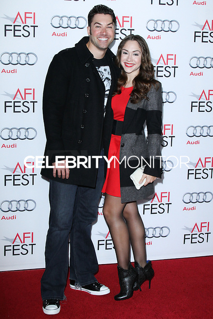 "HOLLYWOOD, CA - NOVEMBER 12: Ace Young, Diana DeGarmo at the AFI FEST 2013 - ""Lone Survivor"" Premiere held at TCL Chinese Theatre on November 12, 2013 in Hollywood, California. (Photo by David Acosta/Celebrity Monitor)"