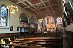 Interior of cathedral church of Saint Patrick, Skibbereen, County Cork, Ireland, Irish Republic