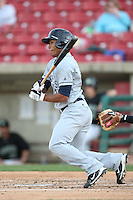 April 11 2010: Angel Morales of the Beloit Snappers at Elfstrom Stadium in Geneva, IL. The Snappers are the Low A affiliate of the Minnesota Twins. Photo by: Chris Proctor/Four Seam Images