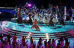Singer Shakira performs at the closing ceremony of the  2010 FIFA World Cup - Johannesburg, South Africa, Sunday, July, 11, 2010. Final match, Netherlands vs Spain, Soccer City Stadium (credit & photo: Pedja Milosavljevic / +381 64 1260 959 / thepedja@gmail.com / STARSPORT )