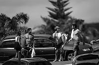 TAJ BURROW (AUS) with ANDY KING (AUS) at D-Bah, Coolangatta , Queensland, Australia.  Photo: joliphotos.com