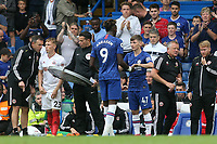 Billy Gilmour of Chelsea replaces Tammy Abraham in the second half during Chelsea vs Sheffield United, Premier League Football at Stamford Bridge on 31st August 2019