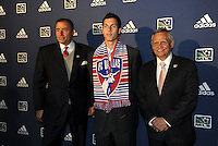 Matt Hedges 11th pick of first round by FC Dallas,with coaching and management team... The 2012 MLS Superdraft was held on January 12, 2012 at The Kansas City Convention Center, Kansas City, MO.