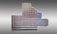 Roman geometric mosaics from Zeugma. 2nd-3rd century AD. Zeugma Mosaic Museum, Gaziantep, Turkey.