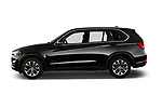 Car driver side profile view of a 2017 BMW X5 xDrive35d 5 Door SUV