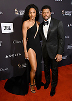 09 February 2019 - Beverly Hills, California - Ciara, Russell Wilson. The Recording Academy And Clive Davis' 2019 Pre-GRAMMY Gala held at the Beverly Hilton Hotel. Photo Credit: Birdie Thompson/AdMedia