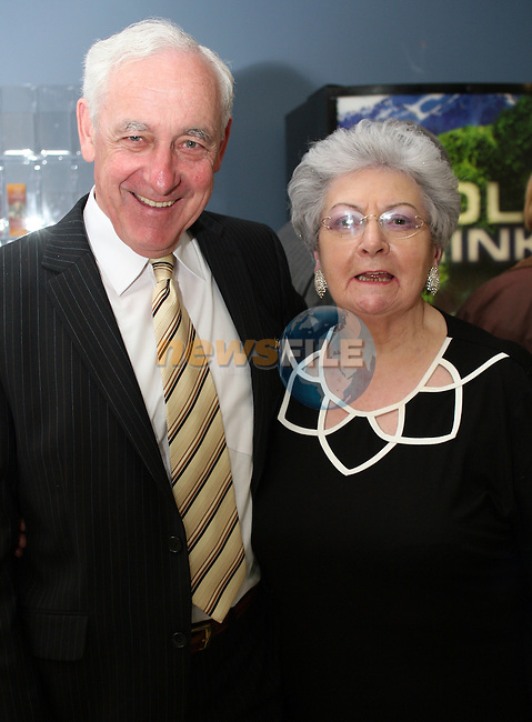 Ray White and Margaret McCullough at the Opening Gala Night at the Barbican in aid of Cystic Fibrosis...Photo NEWSFILE/Jenny Matthews.(Photo credit should read Jenny Matthews/NEWSFILE)....This Picture has been sent you under the condtions enclosed by:.Newsfile Ltd..The Studio,.Millmount Abbey,.Drogheda,.Co Meath..Ireland..Tel: +353(0)41-9871240.Fax: +353(0)41-9871260.GSM: +353(0)86-2500958.email: pictures@newsfile.ie.www.newsfile.ie.FTP: 193.120.102.198.