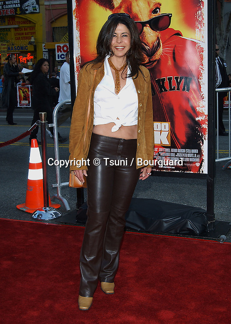 "Maria Conchita Alonso arriving at the U.S. Premiere of ""Kangourou Jack"" at the Chinese Theatre in Los Angeles. January 11, 2003."