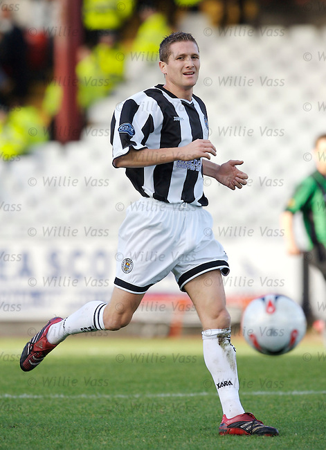 Hugh Murray, St Mirren.stock season 2006-2007.pic willie vass