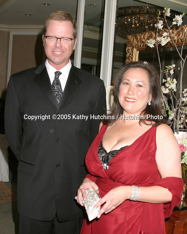 David Stainton, President, WD Feature Animation.Sharon Morrill , President, DisneyToon Studios.Healing Children Through Medicine and Arts Gala.Beverly Hills Hotel.Beverly Hills, CA.April 9, 2005.@2005 Kathy Hutchins / Hutchins Photo.