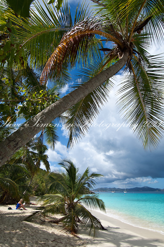 Salomon Beach, St John, Virgin Islands National Park.North Shore of St John.US Virgin Islands