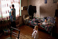 Olga Kolmogorova tries to get a mobile phone signal to make a call. She and her husband Piotr are raising their three grandchildren, as the children's father is often away, working in the taiga, and their mother has lost custody because of parental neglect. Olga, like many others in villages along the route of the BAM Railway rely on the Matvei Mudrov train for medical services.<br /> <br /> The Matvei Mudrov train is a medical train operated by Russian Railways along the course of the Baikal Amur Magistral (Baikal-Amur Mainline, or BAM) railway line. Named after a famous 19th century Russian physician, the train employs around 15 doctors who make about 10 trips a year, each lasting two weeks. Along the way they deliver essential medical services to people living in remote villages along the 4,324 km long BAM railway. Though not equipped to carry out surgical procedures the train has heart monitors, ultrasound and x-ray machines to deliver diagnosis.