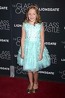 Chandler Head bei der Premiere des Kinofilms 'The Glass Castle / Schloss aus Glas' im SVA Theater. New York, 09.08.2017