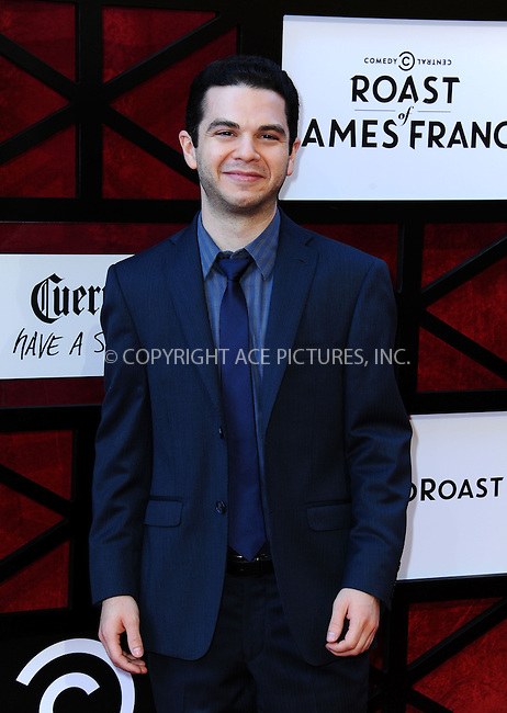WWW.ACEPIXS.COM<br /> <br /> <br /> August 25, 2013, Culver City, CA.<br /> <br /> Samm Levine arriving at the Comedy Central Roast of James Franco held at Culver Studios on August 25, 2013 in Culver City, California. <br /> <br /> <br /> <br /> <br /> By Line: Peter West/ACE Pictures<br /> <br /> ACE Pictures, Inc<br /> Tel: 646 769 0430<br /> Email: info@acepixs.com