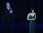 Eva Noblezada and Patrick Page performing at  the TCG Gala at the Edison Ballroom on February 4, 2019 in New York City.
