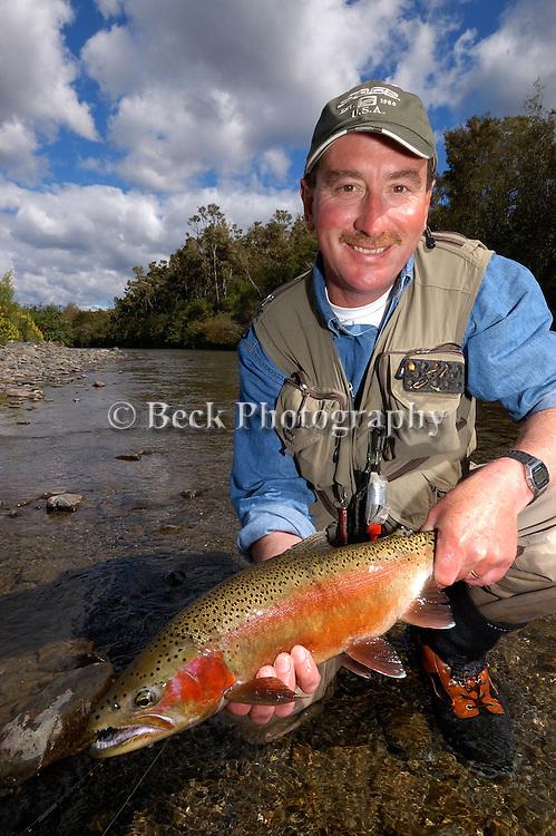 handheld trout